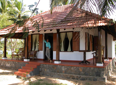 Coconut Island Resort In The Kerala Backwaters